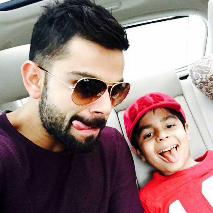 Virat-Kohli-With-Nephew