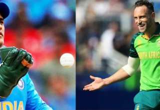 Ms Dhoni is a Better Finisher I haven't Played Anyone like Him : Faf du Plessis