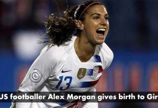 US-footballer-Alex-Morgan-gives-birth-to-girl
