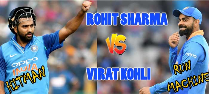 Virat Kohli vs Rohit Sharma Batting Comparison