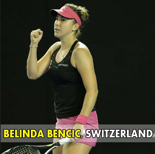 BELINDA-BENCIC - SWITZERLAND Tennis Player