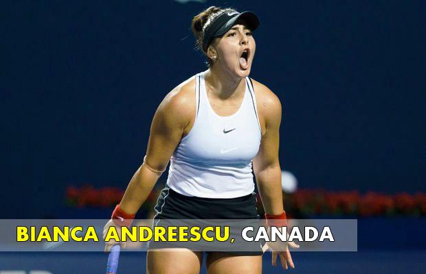 BIANCA-ANDREESCU - Canada Tennis Player