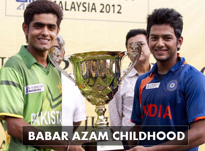 Babar-Azam-Pakistan-Cricketer-Childhood