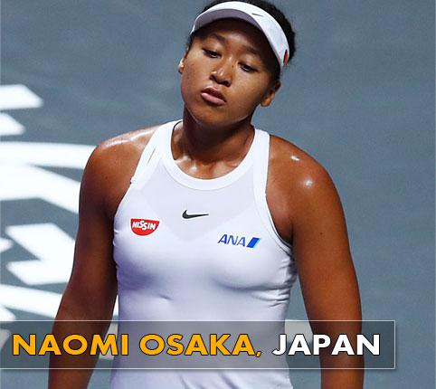 Naomi-Osaka - Japan Tennis Player