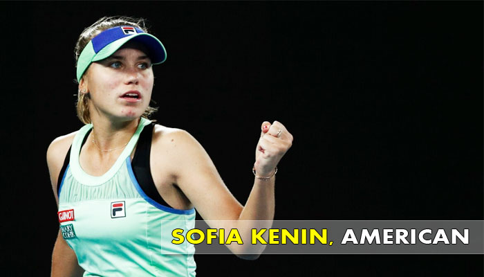 SOFIA-KENIN-American tennis Player
