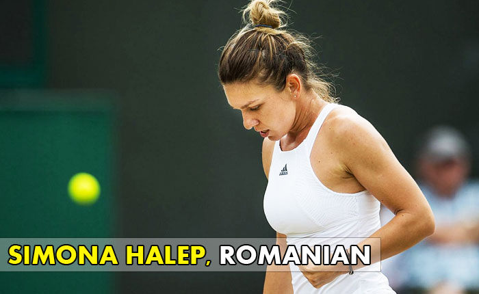 Simona-Halep - Romanian Tennis Player