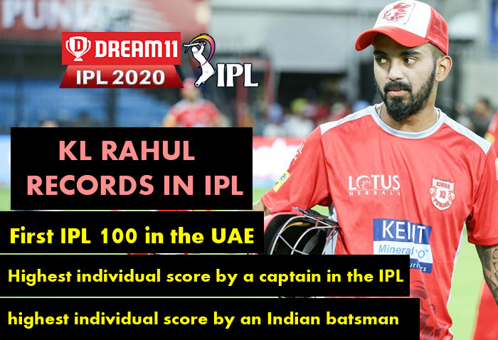 IPL 2020: KXIP captain Rahul break 3 records during the match against RCB