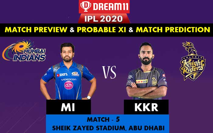 IPL-2020-MI-Vs-KKR-Team-Preview-and-Match-Predicting-Analysis