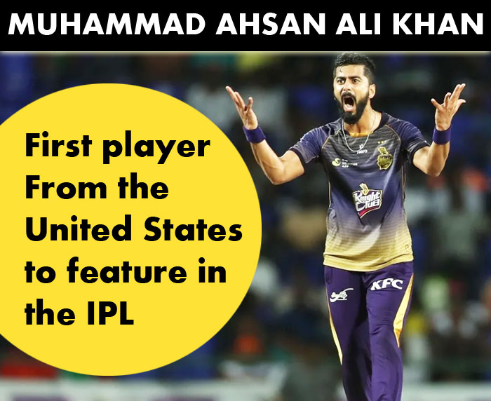 Ali khan will be the First US Cricketer to Play in UAE for IPL 2020