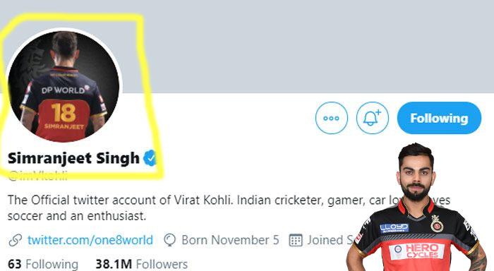 Reason-behind-the-name-conversion-of-Virat-Kohli-in-Twitter