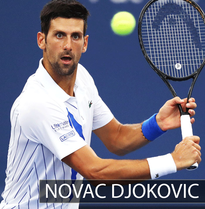 Top Tennis Player Novac Djokovic entering the second round in US Open 2020