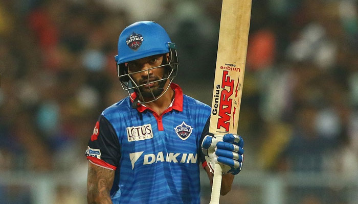 DC batsman Shikhar creates a new record in IPL history by his 2 centuries
