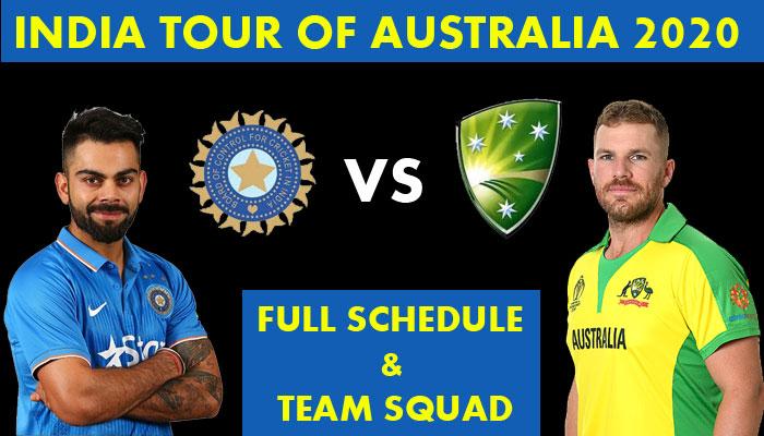 India vs Australia 2020-2021: T20I, ODI, Test matches team squad and other details