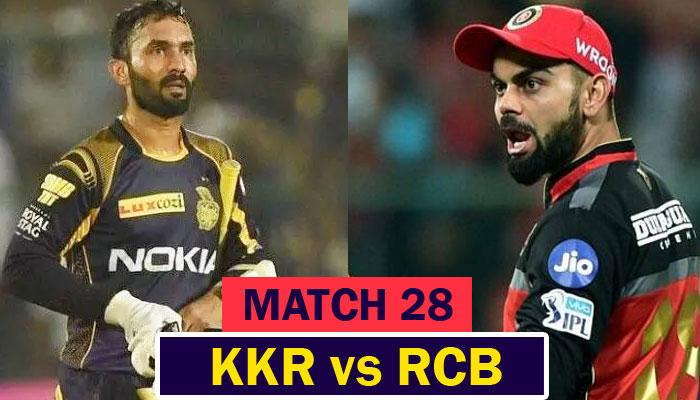 IPL 2020 : RCB vs KKR Match Preview, Prediction, Weather ...