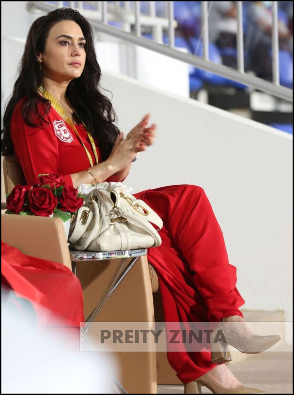 KXIP-Preity-Zinta-Different-Expression-Moods