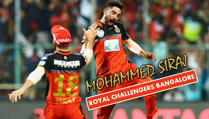 RCB pacer Siraj becomes the first bowler in IPL history to bowl two maidens in one match