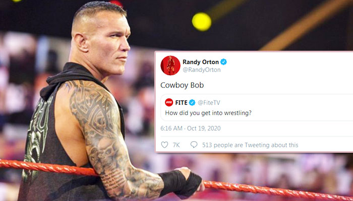 Who Introduce the Expert Randy Orton in Pro-Wrestling? He answered to his fan in Twitter