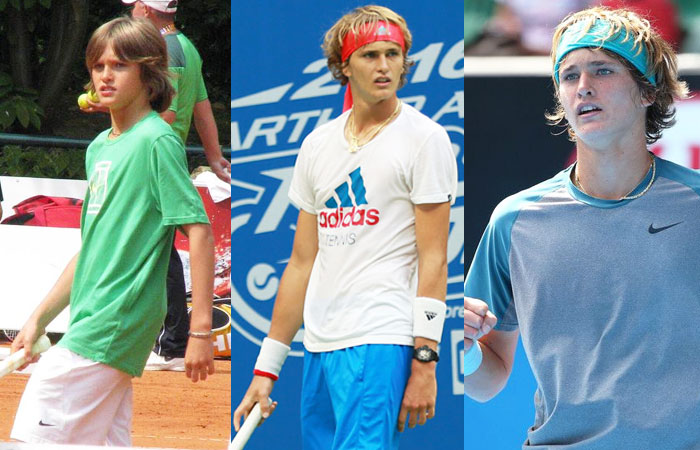 Alexander Zverev Childhood Photos