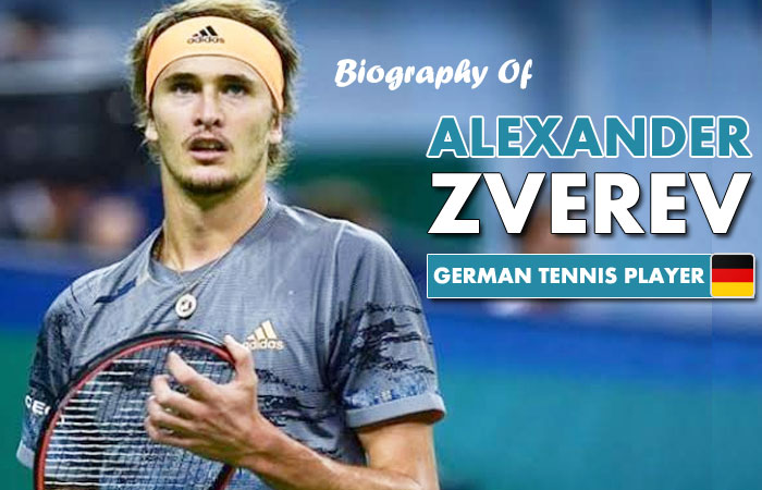 Alexander Zverev German Tennis Player Biography