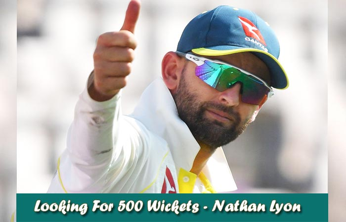 Australian Spinner Nathan Lyon: Crossing 500 wickets in Test match is my ambition