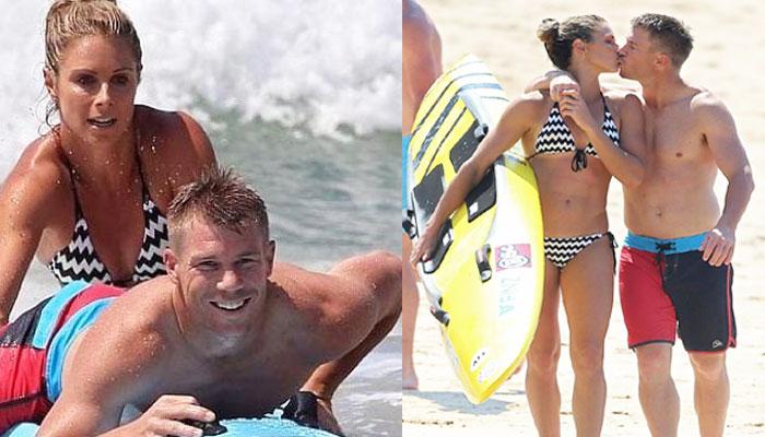 David-Warner-With-Wife-Candice-Warner