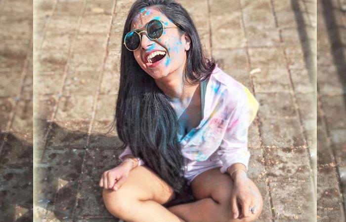 Dhanashree Sharma in Holy Celebration