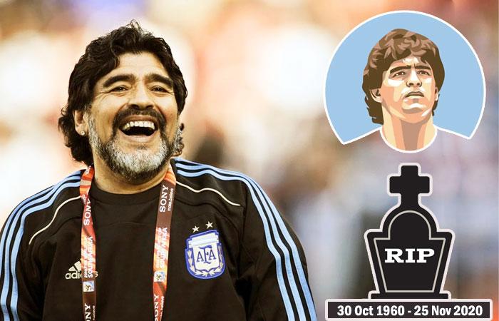 Former Argentina Footballer Diego Maradona Dies of Heart attack in his 60