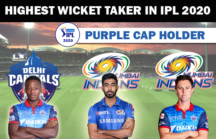 Highest Wicket taker in IPL 2020 Season 13 Purple Cap Holder