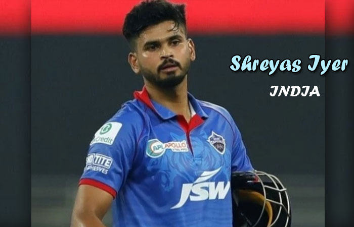 Indian Cricketer Shreyas Iyer