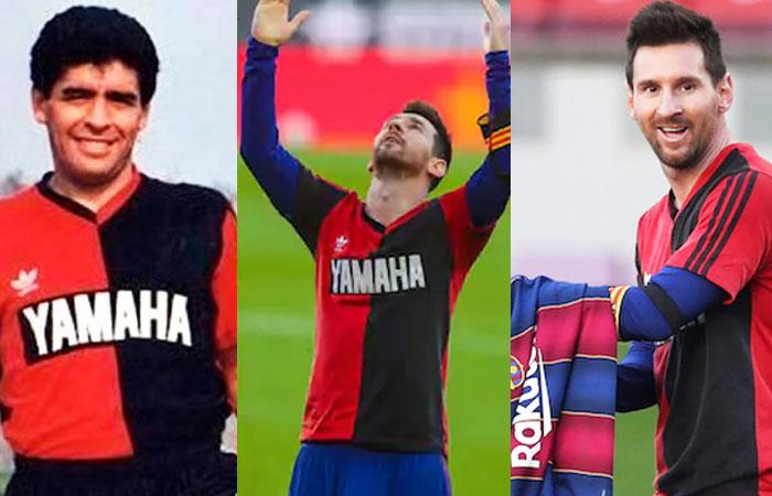 Lionel Messi Paid Tribute to Legend Footballer Diego Maradona at Camp Nou
