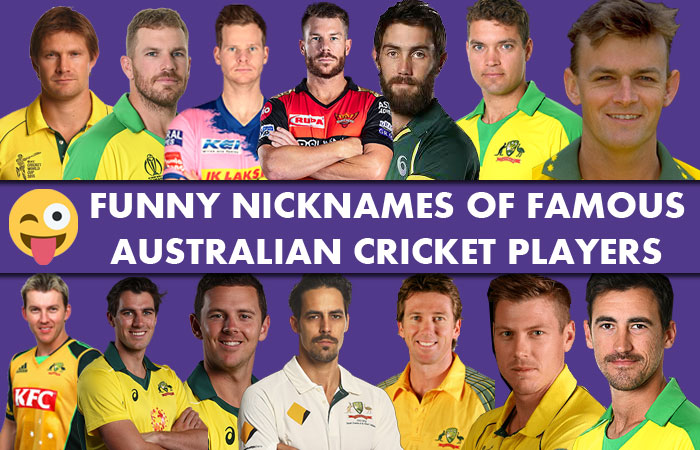 Nicknames of Famous Australian Cricket Players | Favourite Cricketer Nicknames