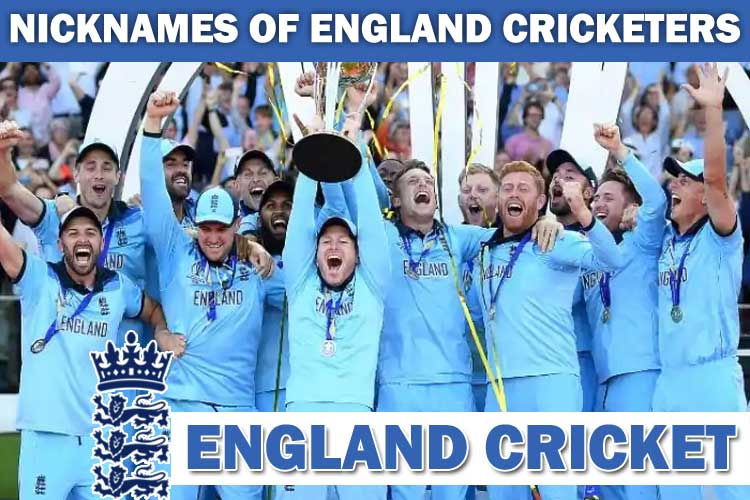 Nicknames of Famous England Cricket Players