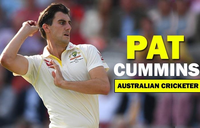 Pat Cummins Australian Bowler Biography