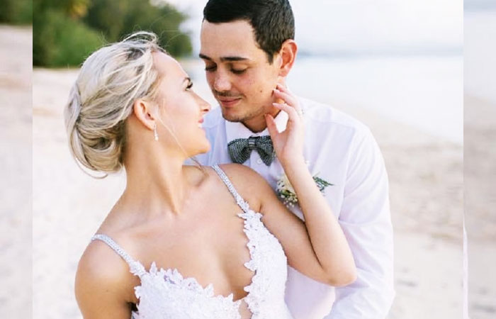Quinton-De-Kock-With-Wife-Sasha-Hurley