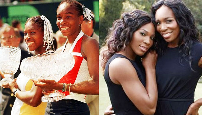 Serena Williams With Sister Venus Williams