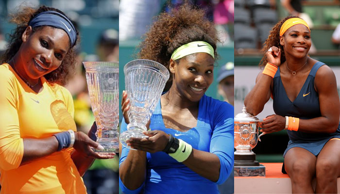 Serena Williams With Titles