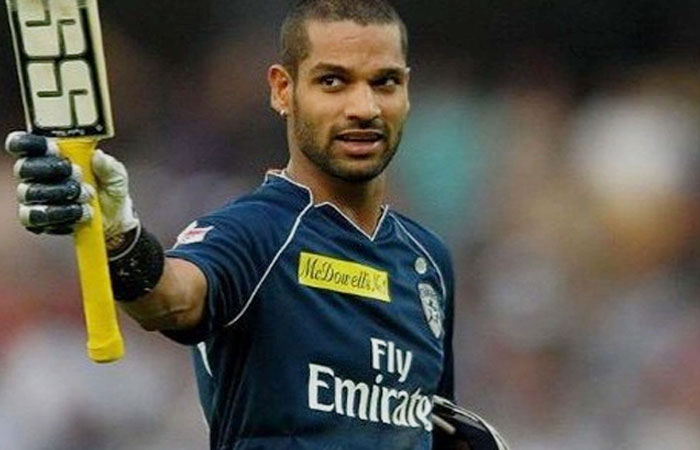 Shikhar Dhawan Indian Cricket Opening Batsman