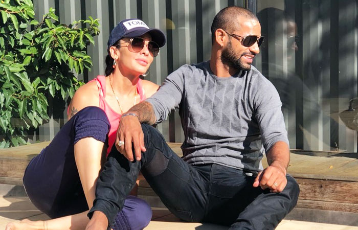 Shikhar-Dhawan-With-Wife-Ayesha-Mukherjee