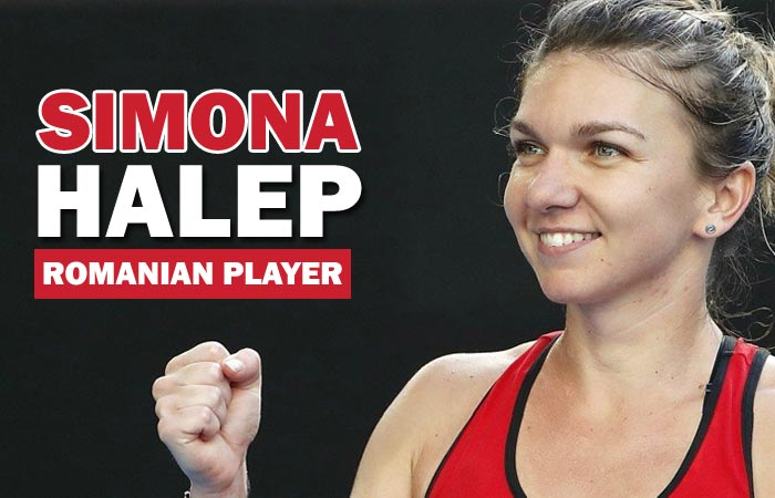 Simona Halep Romanian Tennis Player