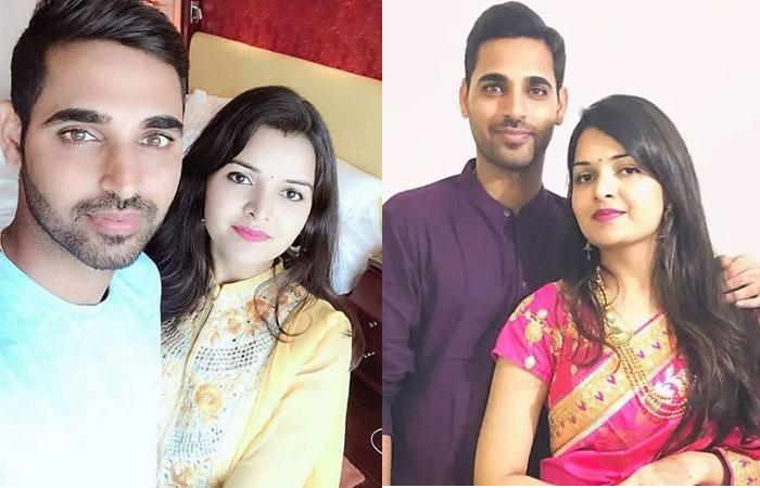 Bhuvneshwar Kumar Spouse Nupur Nagar Photos