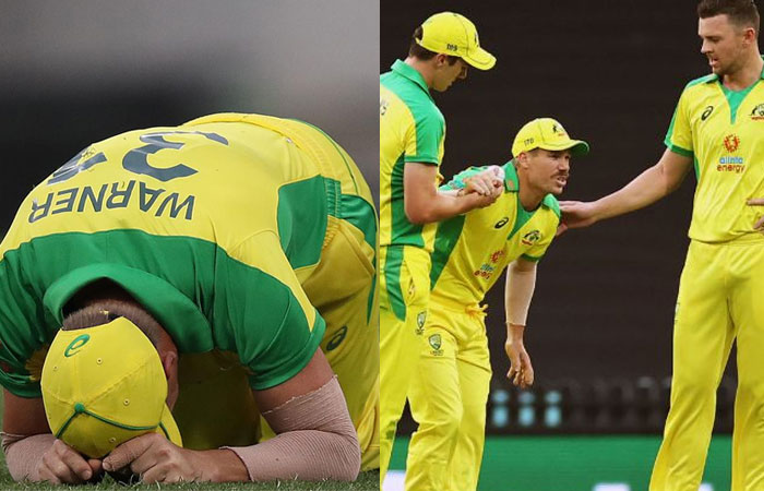 David Warner Dismissed from First Test Match due to his Injury