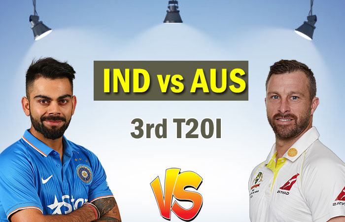 India vs Australia Final T20I - Match time, Venue and Live Streaming