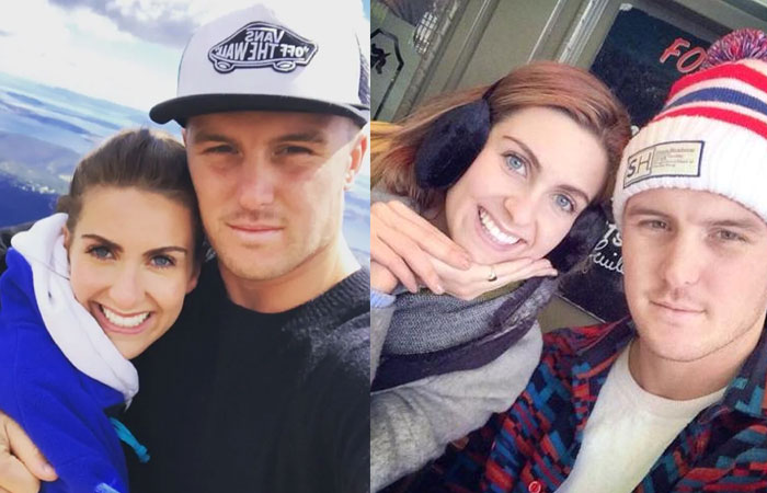 Jason Roy With Wife Elle Moore Photos