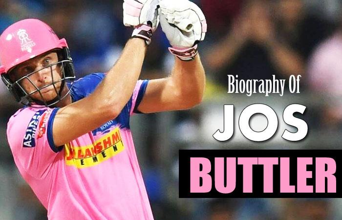 Jos Buttler Cricket Player Profile