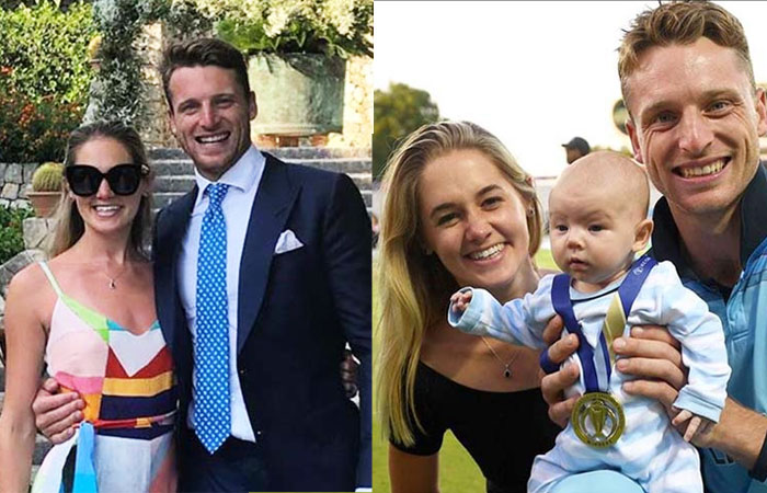 Jos Buttler Cute Family Wife and Daughter