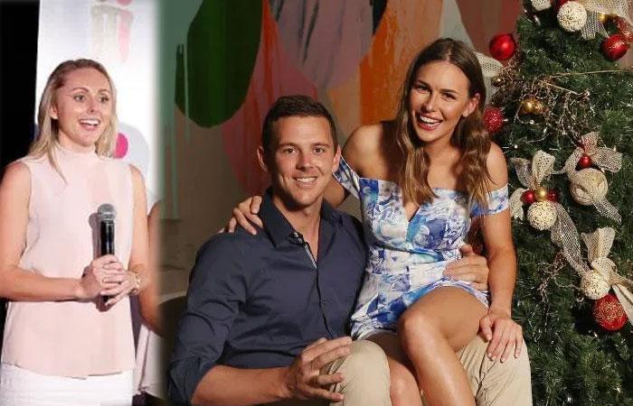 Josh Hazlewood With Girl Friend Cherina Murphy