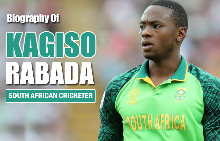 Kagiso Rabada Cricket Player Biography