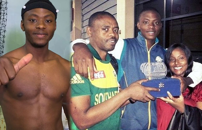 Kagiso Rabada Family Photos
