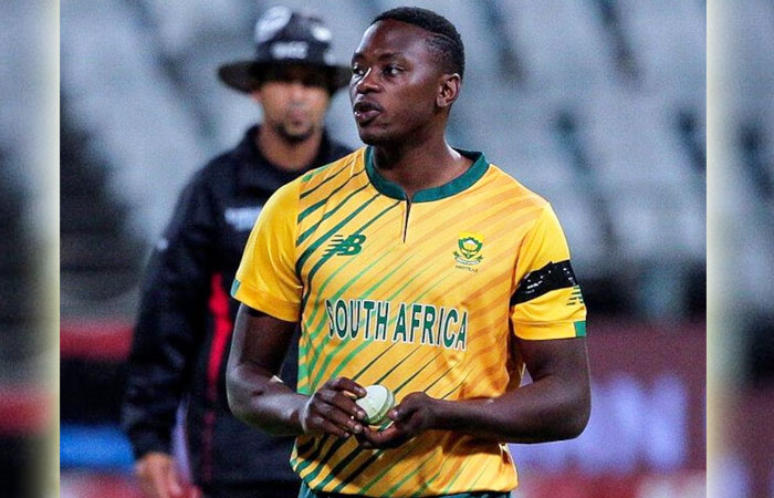 Kagiso Rabada was released from ENG vs SA ODI Series due to his Abductor Strain