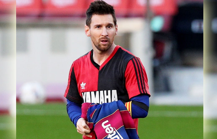 Lionel Messi was Fined $720 as the Result of his Tribute to Legend Diego Maradona